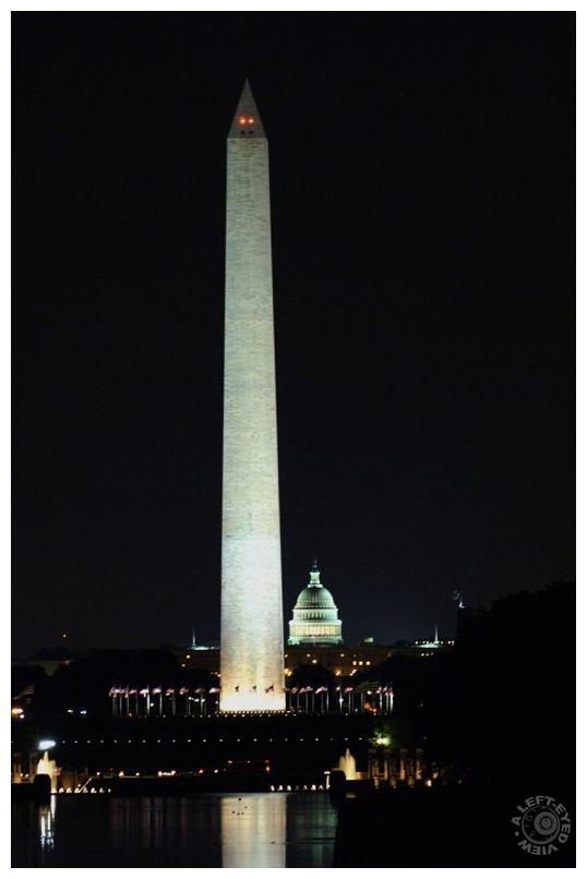 """""""Washington monument"""", obelisk, """"US Capitol"""""""