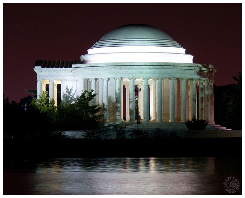 """Jefferson Monument"", ""Jefferson Memorial"""