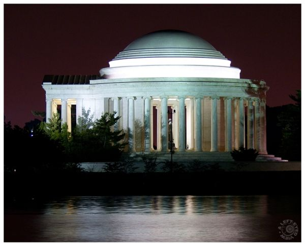 """Jefferson Monument"", ""Jefferson Memorial"""