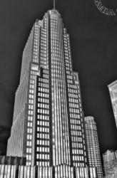 """NBC Tower"", Chicago, ""A Left-Eyed View"""