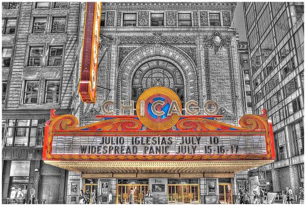Chicago Theatre Marquee
