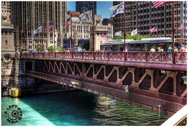 """""""Michigan Avenue Bridge"""", Chicago"""