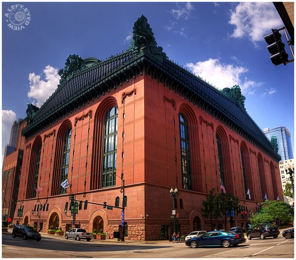 """Harold Washington Library"", ""A Left-Eyed View"""