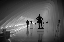 """""""Milwaukee Art Museum"""", wing, """"A Left-Eyed View"""""""