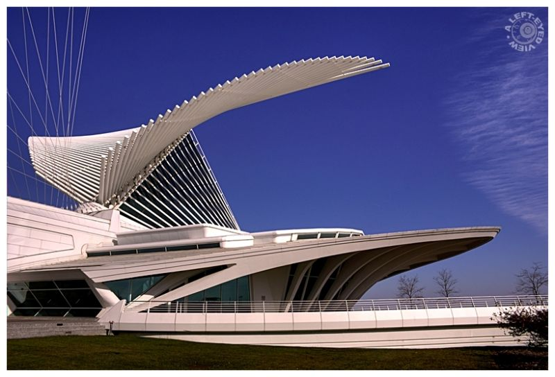 """Milwaukee Art Museum"", ""A Left-Eyed View"""