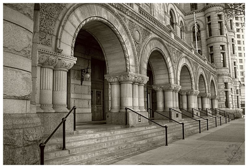 """""""Milwaukee Federal Courthouse"""", """"A Left-Eyed View"""""""