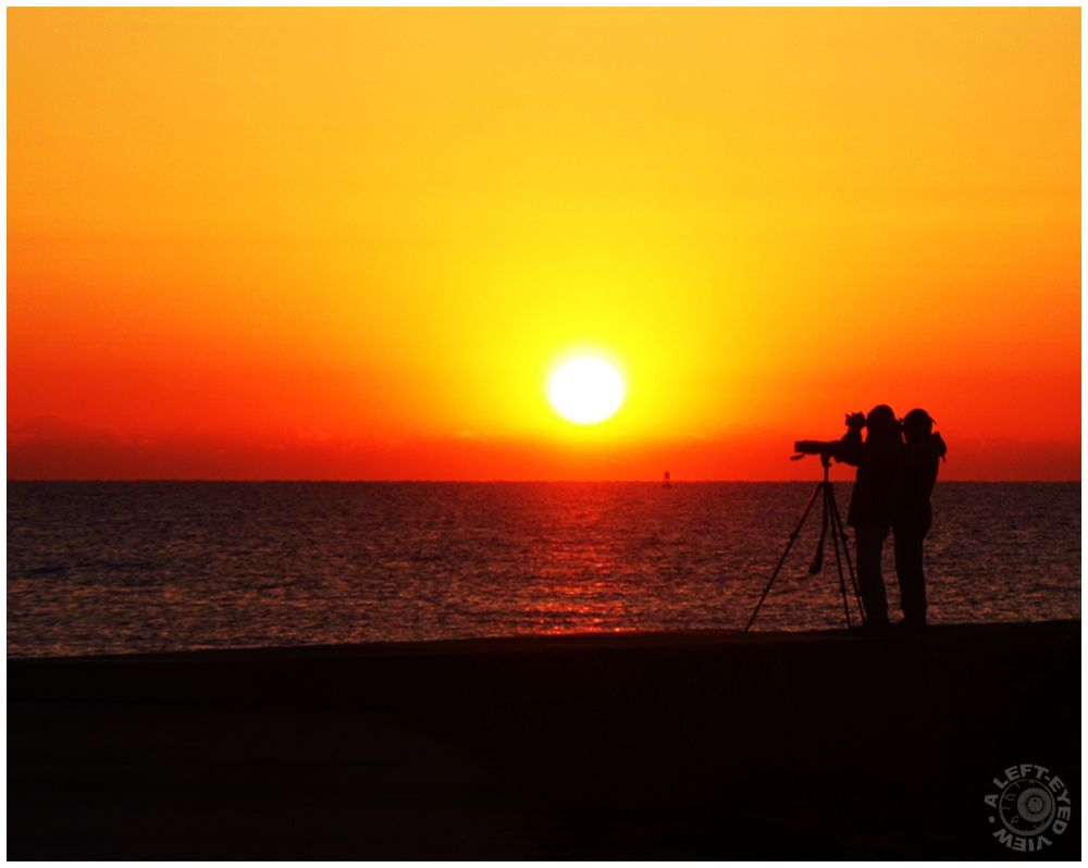 """Sunrise in Waukegan, """"A Left-Eyed View"""""""