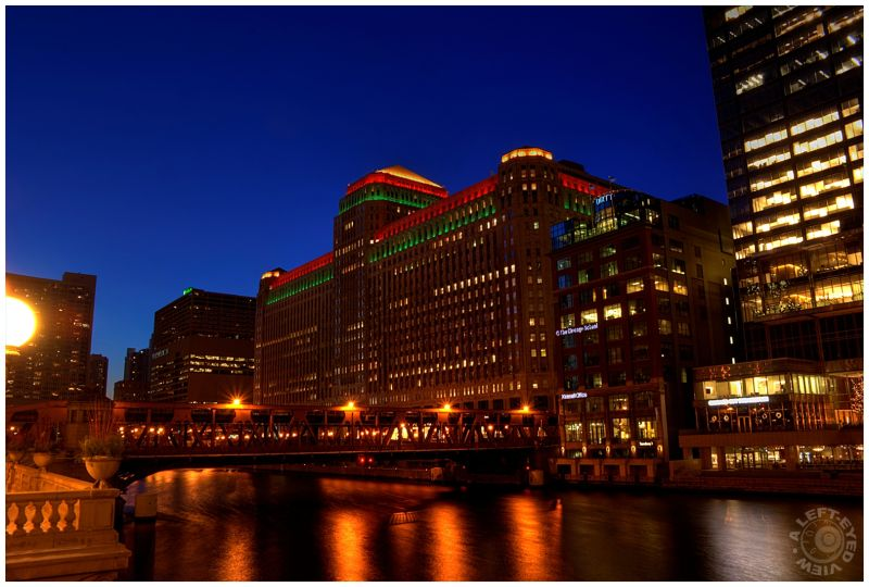 """Merchandise Mart"", Christmas, ""A Left-Eyed View"""