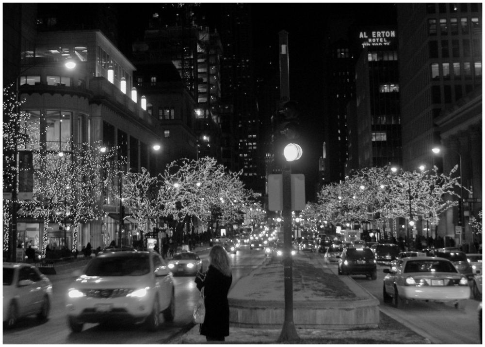 """""""Avenue of Lights"""", """"A Left-Eyed View"""""""