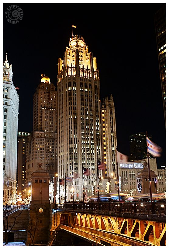"""Chicago Tribune Tower"", ""Tribune Tower"""
