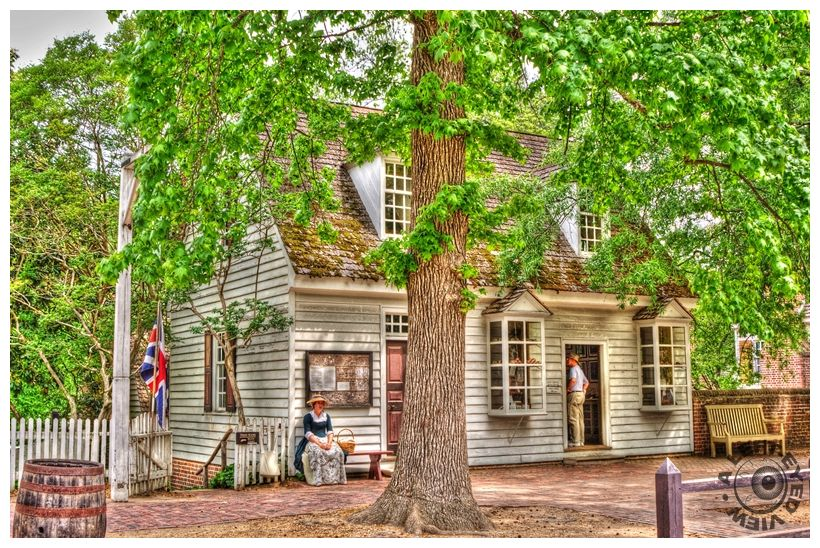 """""""Printing & Post Office"""", """"Colonial Williamsburg"""""""