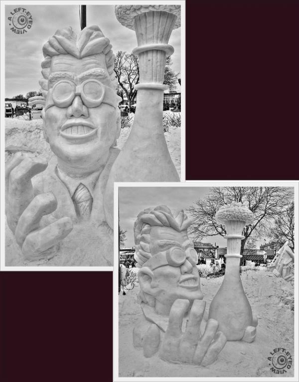 """Snow Sculpture"", ""Lake Genva"", ""Winterfest"", 2011"