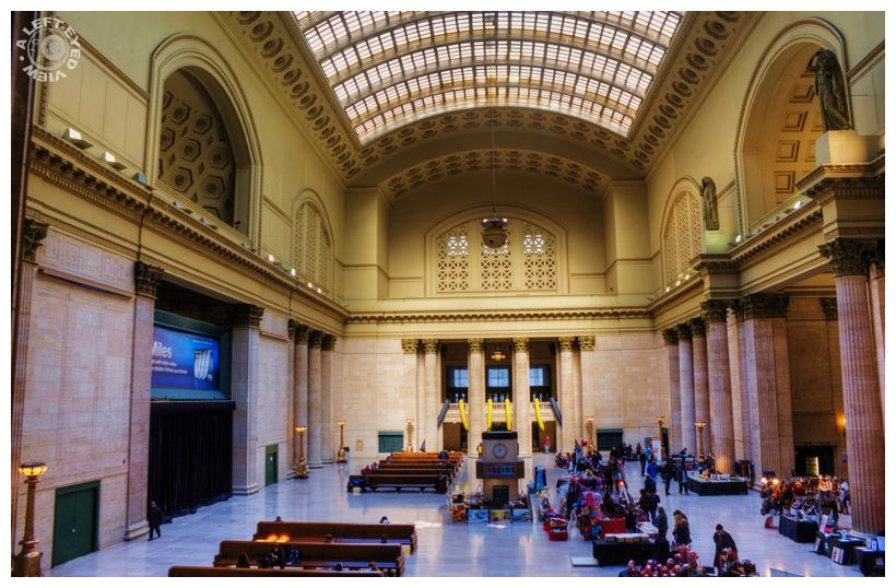 """Union Station"", Chicago, ""A Left-Eyed View"""