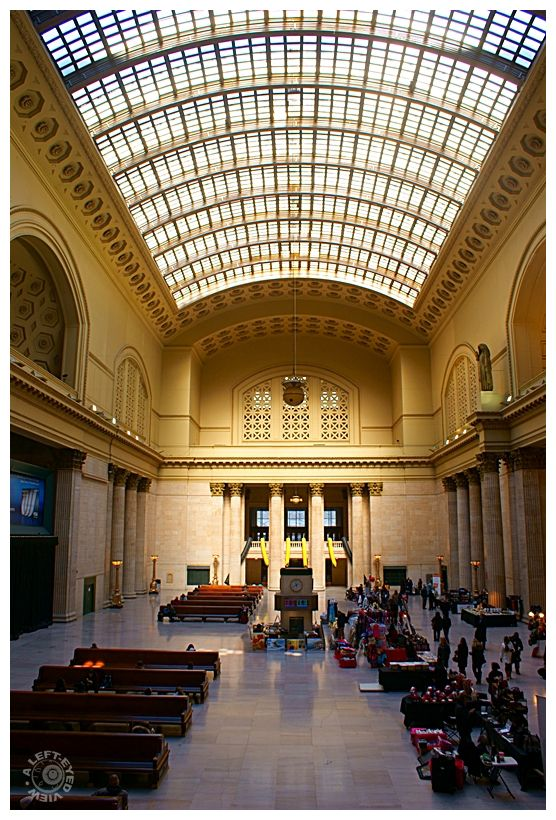 """Union Station"", ""Great Hall"", Chicago"