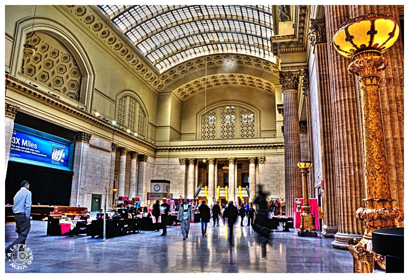 """""""Great Hall"""", """"Union Station"""", """"A Left-Eyed View"""""""
