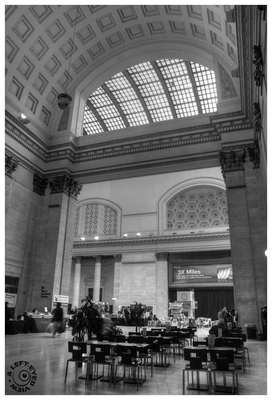 """Floating Cornice"", ""Union Station"", concourse"