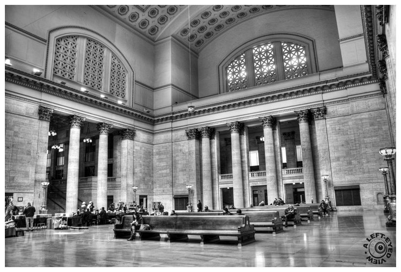 """""""Great Hall"""", """"Union Station"""", Chicago"""