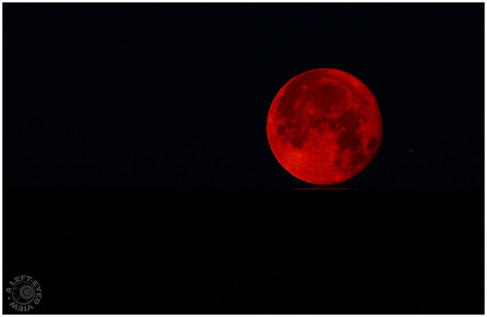 """""""Red moon"""", """"A Left-Eyed View"""""""
