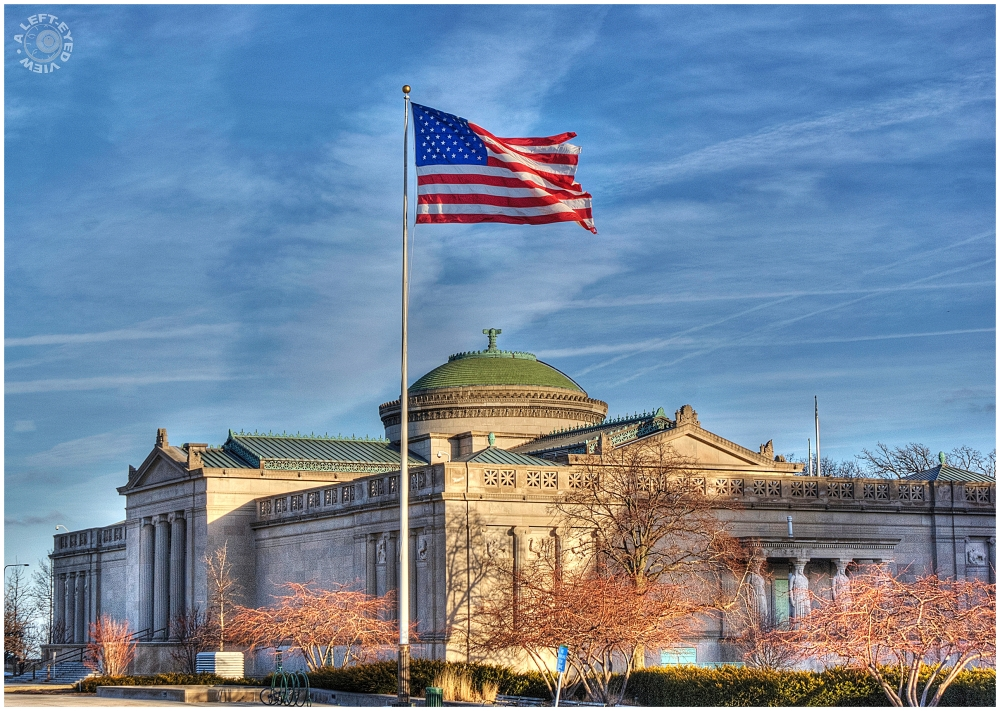 """""""old glory"""", """"Museum of Science and Industry"""""""