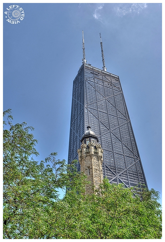 """John Hancock Tower"", ""A Left-Eyed View"""