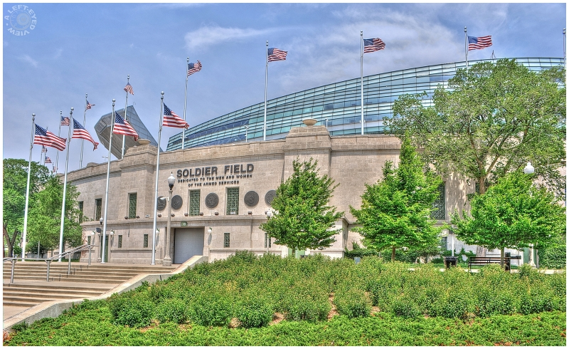"""""""Soldier Field"""", """"A Left-Eyed View"""""""