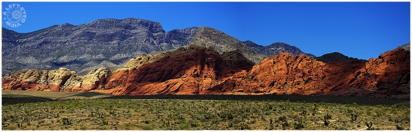 """Red Rock Canyon"", ""A Left-Eyed View"""
