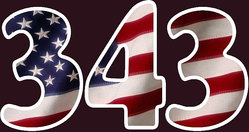 We Shall Never Forget, 343, 9/11