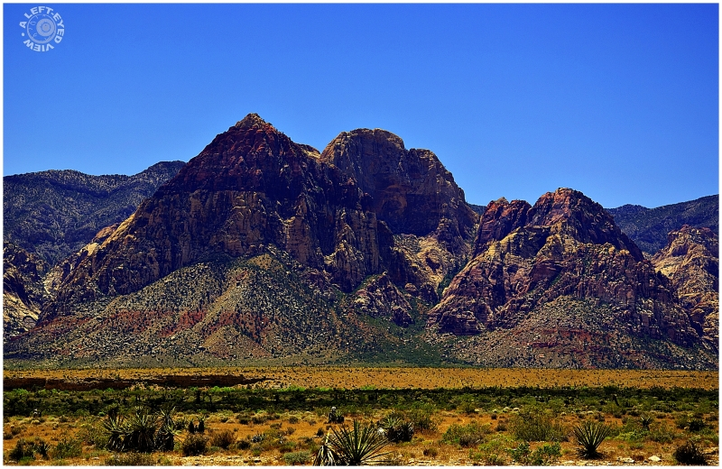 """Rainbow Mountain"", ""Red Rock Canyon"""