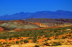 """Rainbow Vista"", ""Valley of Fire"""
