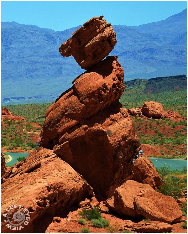 """Balancing Rock"", ""Valley of Fire"""