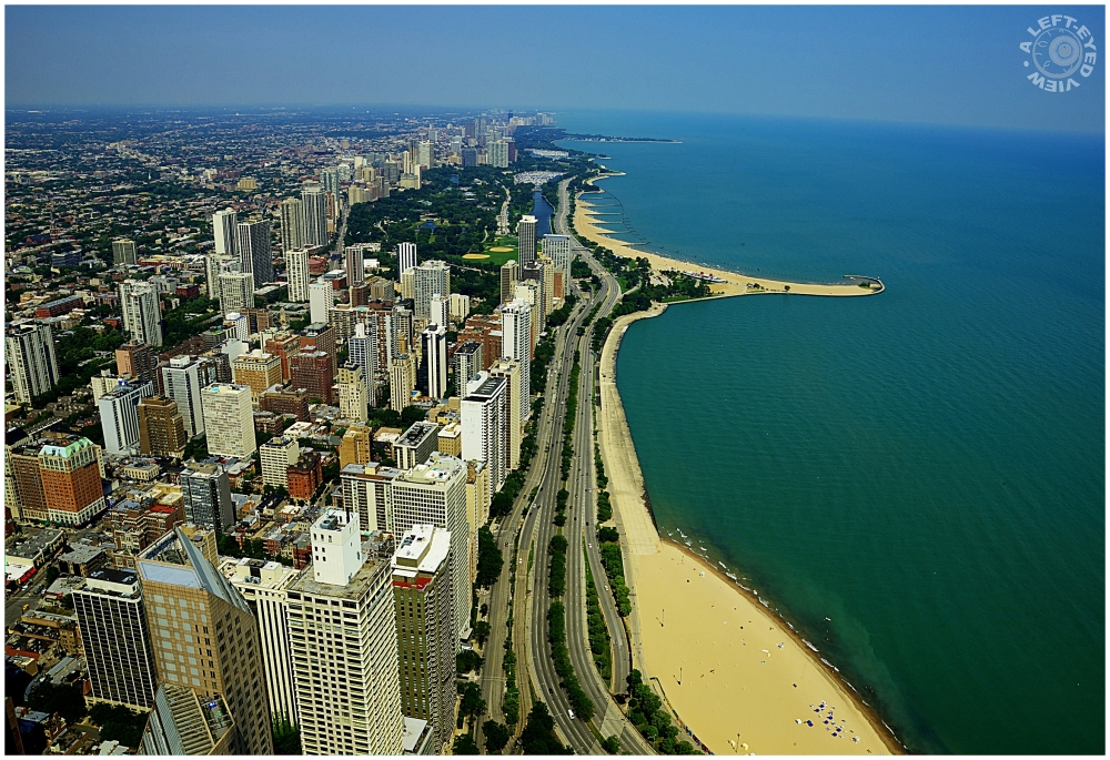 "Chicago, ""John Hancock"", ""North Avenue Beach"""
