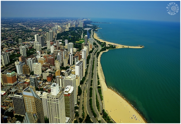 "Chicago, ""John Hancock"", ""North Avenue Beach"""