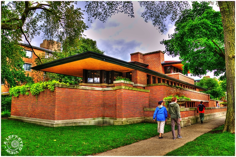 """Robie House"", ""Frank Lloyd Wright"""