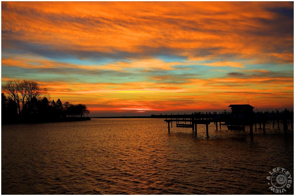 Autumnal Sunrise, Waukegan