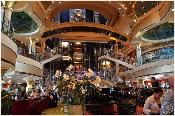 """""""Norweigan Cruise Line"""", Atrium,"""