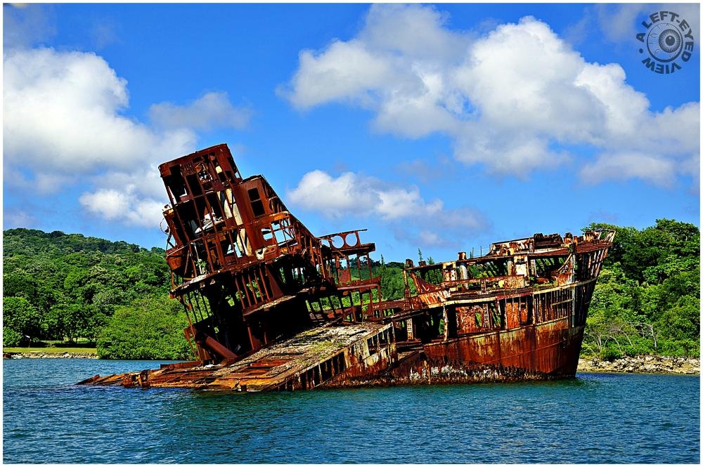 Shipwreck, Roatan