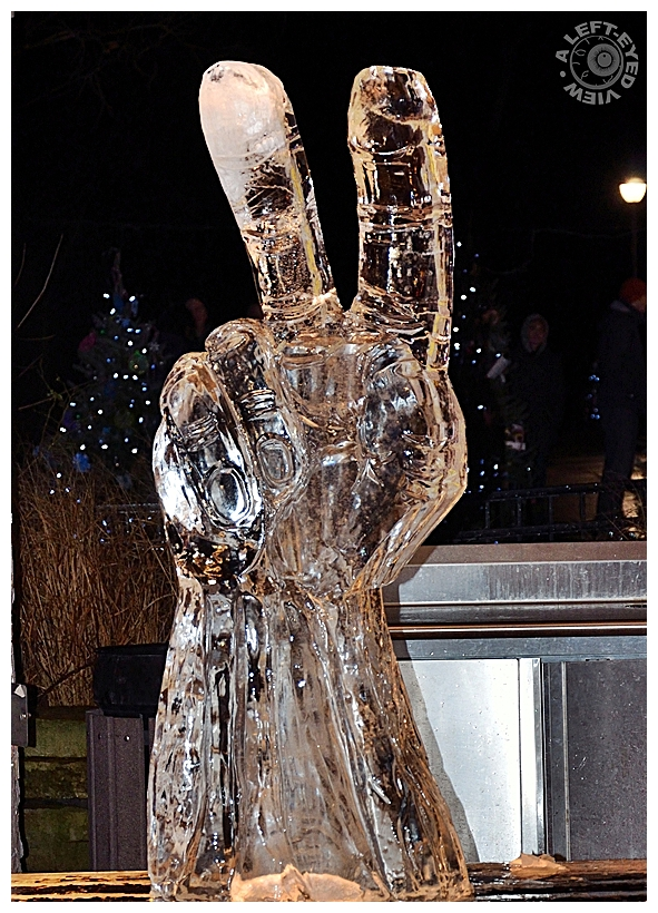 "Peace, ""Ice Carving"""