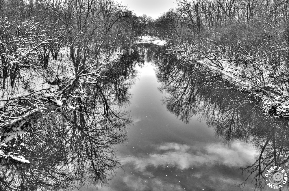 "Snow, ""Salt Creek"", ""LaGrange Park"""