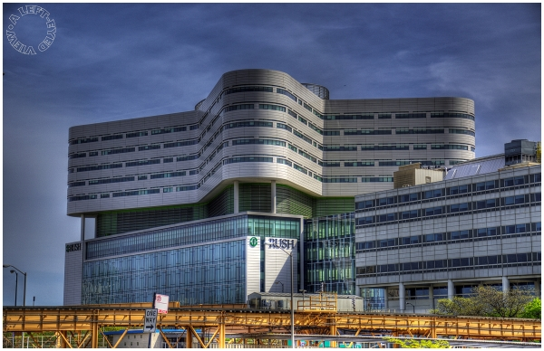 "Rush University Medical Center, ""A Left-Eyed View"""