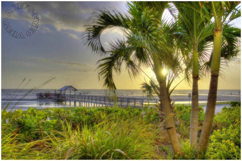 """""""Fort Myers Beach"""", """"A Left-Eyed View"""""""