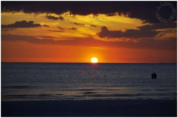 """Fort Myers Beach"", Sunset, ""A Left-Eyed View"""