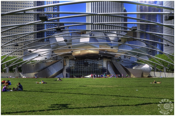 """Pritzker Pavilion"", ""A Left-Eyed View"""