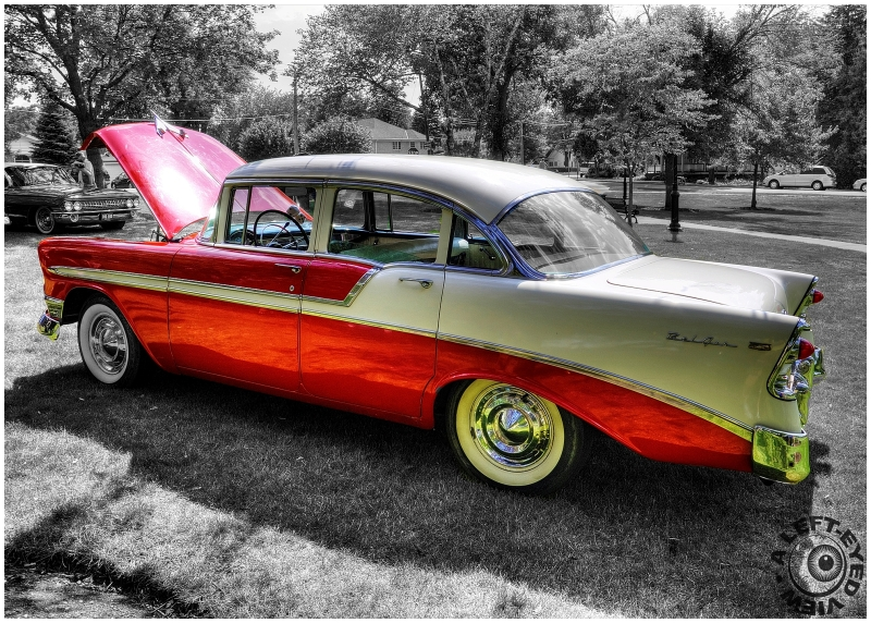 """Chevrolet Bel Air"", ""A Left-Eyed View"""