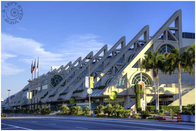 """San Diego Convention Center"", ""A Left-Eyed View"""