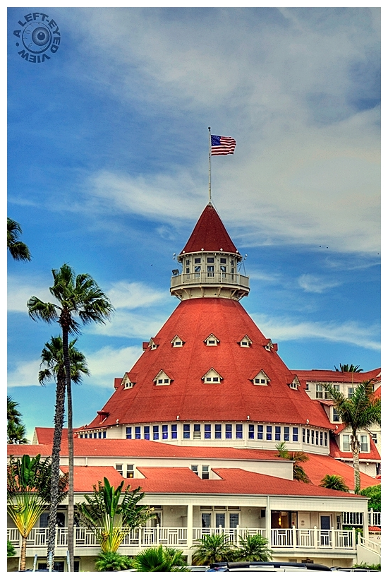 """Hotel del Coronado"", ""A Left-Eyed View"""