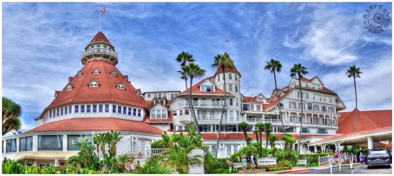 """""""Hotel del Coronado"""", """"A Left-Eyed View"""""""