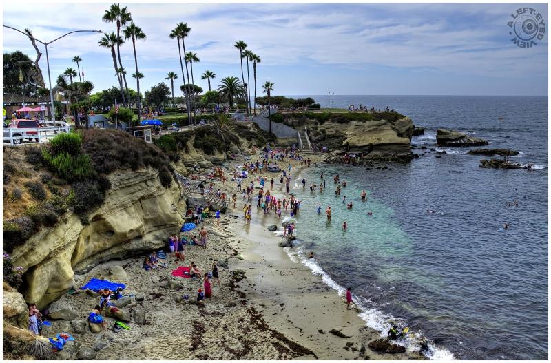 """La Jolla Cove"", ""A Left-Eyed View"""