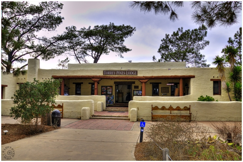 """""""Torrey Pines Lodge"""", """"A Left-Eyed View"""""""