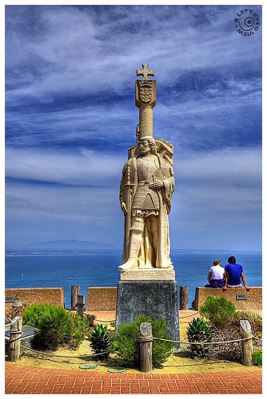 """""""Cabrillo National Monument"""", """"A Left-Eyed View"""""""