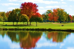 """Glen Flora Country Club, """"A Left-Eyed View"""""""
